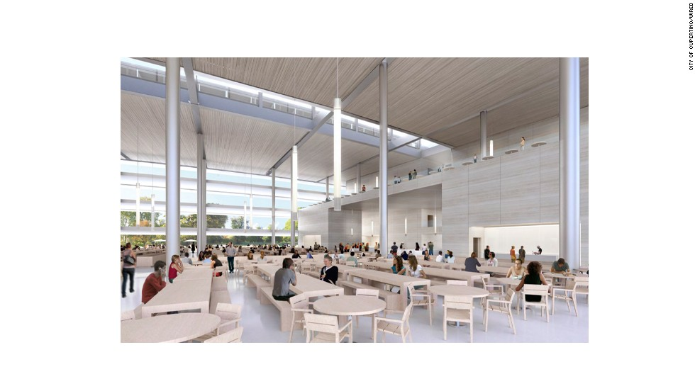 Slated for completion sometime in 2016, the new headquarters will offer employees a massive, 90,000-square-foot cafeteria.