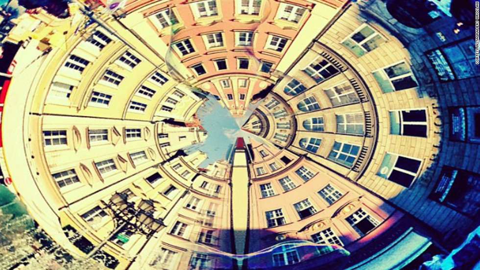 A series of photos from Wroclaw's Market Square are stitched together to create an alternative perspective of the Polish city. Wroclaw Instagramers specialize in snapping enticing, thought provoking shots of their home town.