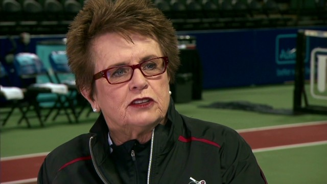 "Billie Jean King on ""my calling"""