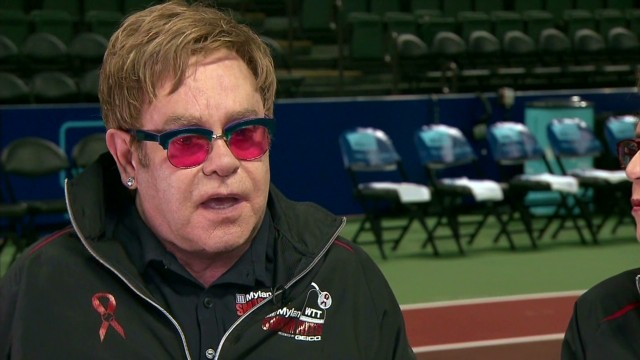 Elton John on celebrity culture