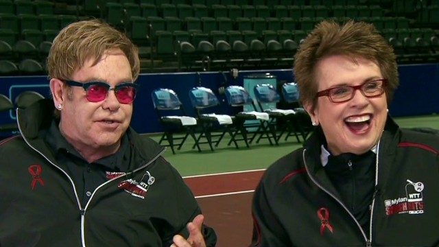 Part 1: Billie Jean King & Elton John