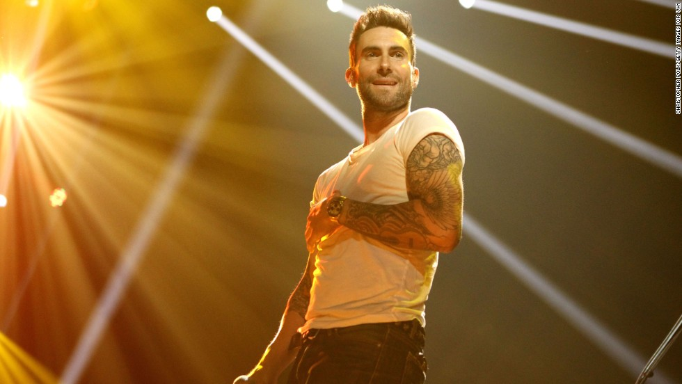 Levine performs in Indianapolis in 2012.