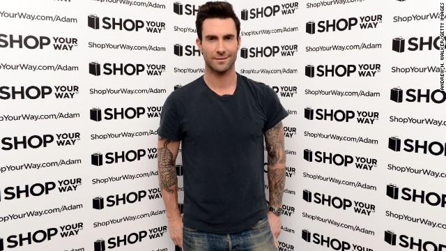 2013: Adam Levine, People's Sexiest Man Alive