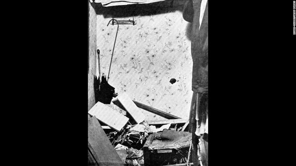 Police ransacked Peruggia's apartment in 1911 looking for the stolen painting. They didn't find it.