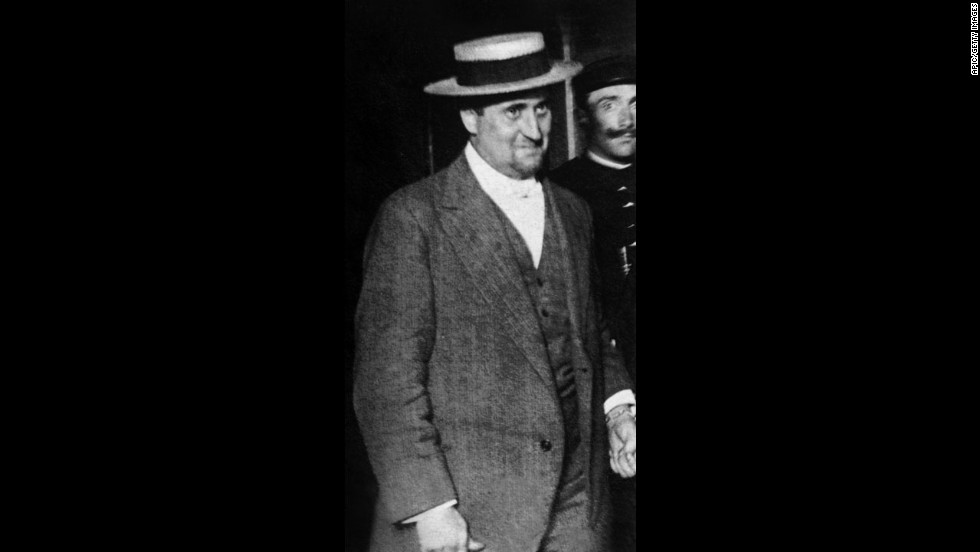 The poet Guillaume Apollinaire was arrested September 7, 1911, and jailed on suspicion of the Mona Lisa's theft. He was released five days later because prosecutors didn't have the evidence to build a case.
