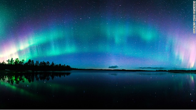 Lighting up Lapland.