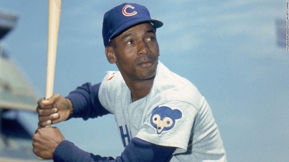"Former Chicago Cub Ernie Banks is being honored for his impressive career as a baseball player. ""During his 19 seasons with the Chicago Cubs, he played in 11 All-Star Games, hit over 500 home runs, and became the first National League player to win Most Valuable Player honors in back-to-back years,"" according to the White House."