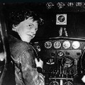 female pilot Amelia Earhart