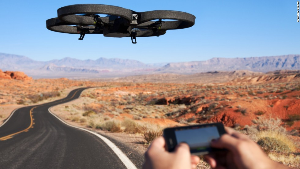 A true big-kids' toy, the Parrot Drone is a quadcopter controlled using any iOS or Android smartphone or tablet. It can record and stream HD video straight from the Drone to your screen. Home movies this Christmas just got extreme. <br /><em><br />Price: Around $299.99</em>