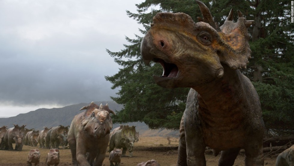 "Think of ""Walking With Dinosaurs"" like a cross between ""The Land Before Time"" and ""Jurassic Park"" without the Spielbergesque drama. In this 3-D epic from Fox, the curious can get a realistic picture of what life was like when dinosaurs ruled, as told through the story of one young dino. (Release date: December 20)"