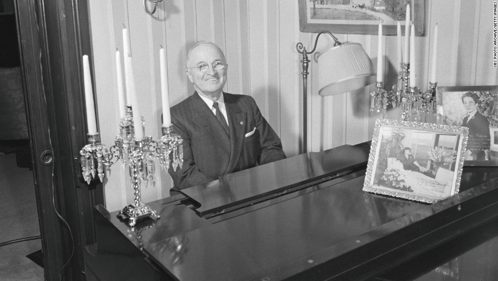 "Harry S. Truman always loved to play the piano. His mother <a href=""http://www.trumanlibrary.org/kids/piano.htm"" target=""_blank"">was his first piano teacher.</a>"