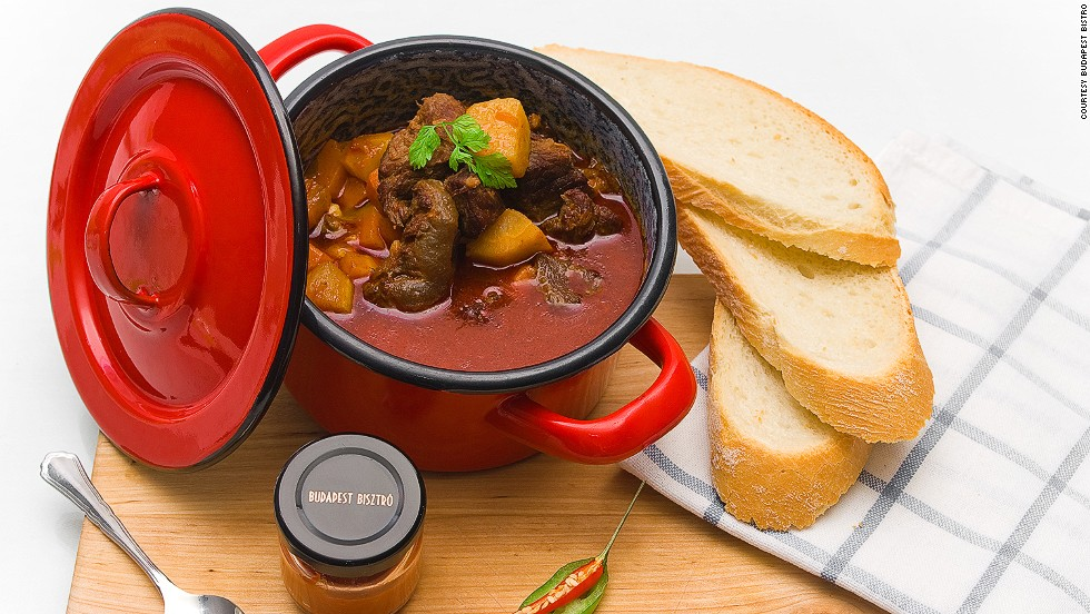Is it a soup? Is it a stew? Hungary's national dish is a cross between the two. It's hard to find a restaurant that doesn't serve it -- from the humblest café to the grandest establishments.