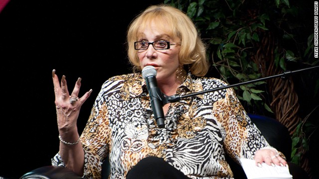 Psychic medium and author Sylvia Browne speaks to the audience during her appearance at Route 66 Casino's Legends Theater on November 13, 2010 in Albuquerque, New Mexico.