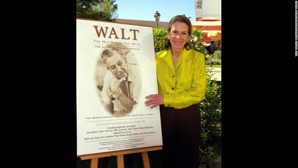 "The eldest daughter of Walt Disney, <a href=""http://www.cnn.com/2013/11/19/showbiz/walt-disney-daughter-dead/index.html"">Diane Disney Miller</a>, died on November 19, according a statement from the museum dedicated to the legendary animated filmmaker. She was 79."