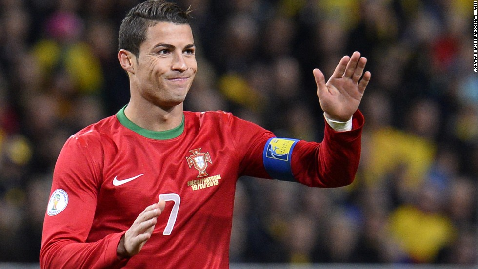 Cristiano Ronaldo's hat-trick fired Portugal into the 2014 World Cup after his side defeated Sweden in the playoffs. Ronaldo is the country's joint-top scorer with Pauleta on 47 goals.