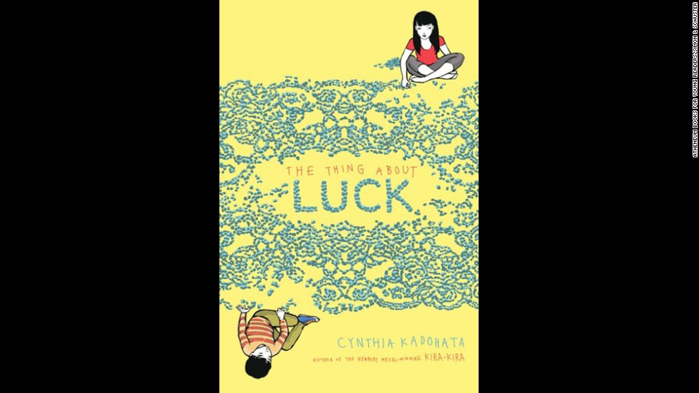 """<strong>Young people's literature (winner): </strong>Cynthia Kadohata, """"<a href=""""http://www.nationalbook.org/nba2013_ypl_kadohata.html#.Uo1_kY2vWL0"""" target=""""_blank"""">The Thing About Luck</a>"""""""