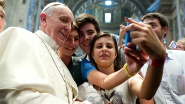 Pope Francis's popularity grows