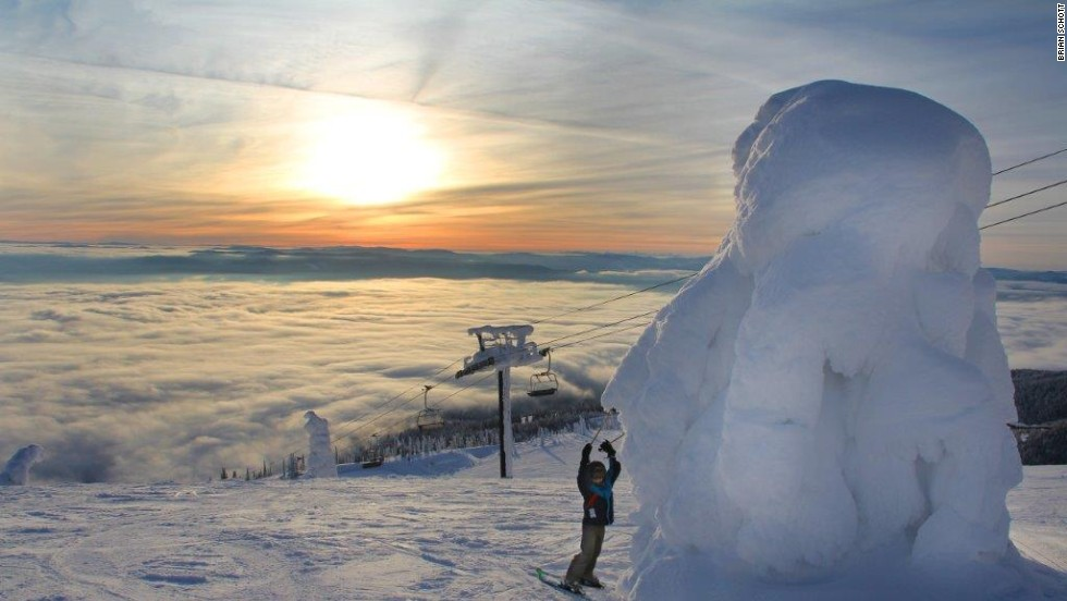 "One of the most popular spots at Whitefish Mountain Resort is the summit. From here, the views of the jagged peaks of Glacier National Park are breathtaking, but it's the snow-covered trees -- known locally as snow ghosts -- that really stand out. <strong>More: <a href=""http://edition.cnn.com/2012/12/12/travel/ski-hotels-united-states/index.html?hpt=tr_c1""><strong></strong>7 swanky U.S. ski hotels</a></strong>"