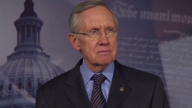 Reid: This is not a time for celebration