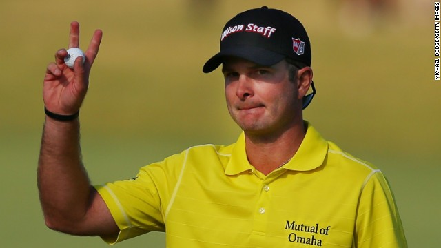 America's Kevin Streelman outshone his teammate Matt Kuchar on the first day of the World Cup of Golf in Melbourne.