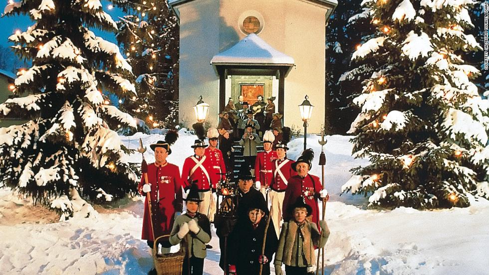 """With its snow-covered fortress and traditional markets, Salzburg is perfect for winter. """"Silent Night"""" was first performed on the outskirts of town in 1818."""