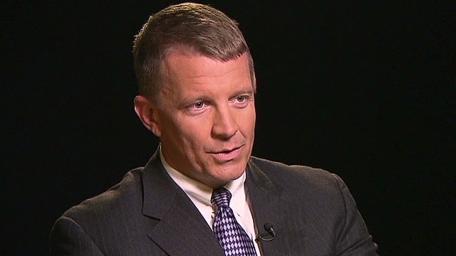 The man behind Blackwater speaks out