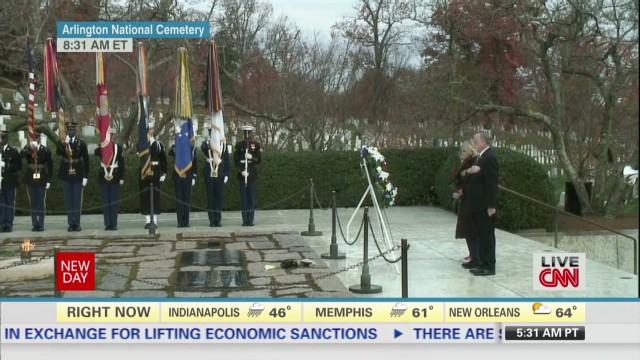 Remembering JFK at Arlington Cemetery