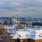 winter cities prague