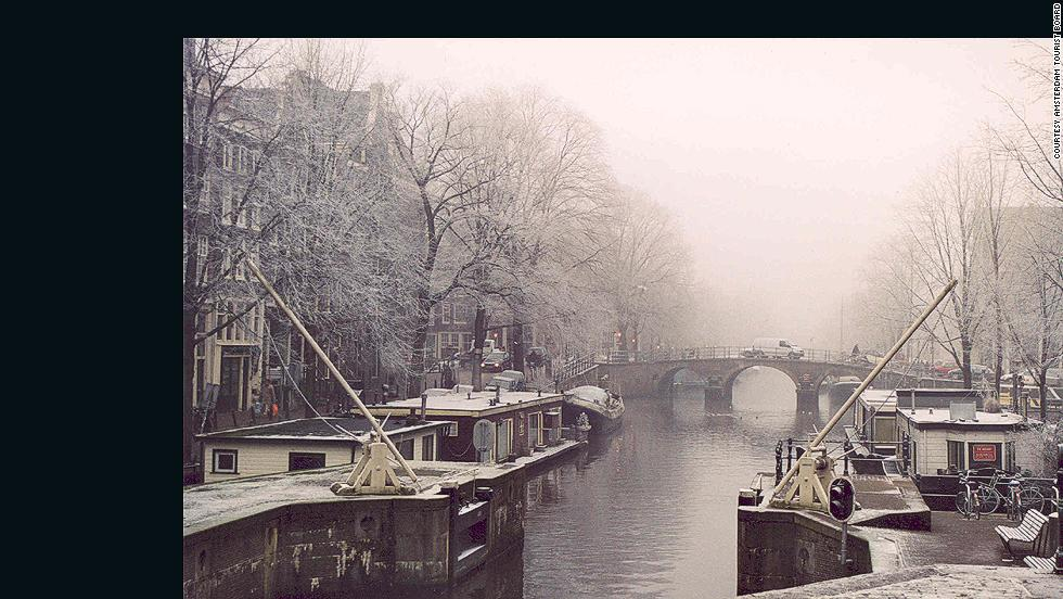 """The Dam"" in winter months is relatively tourist free, making museums like the Rijksmuseum and Anne Frank House a peaceful and educational escape from the cold."