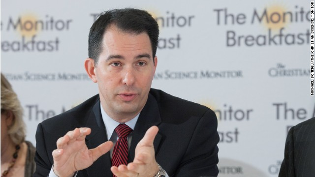"Wisconsin Gov. Scott Walker says the Republican message should be ""reform."""