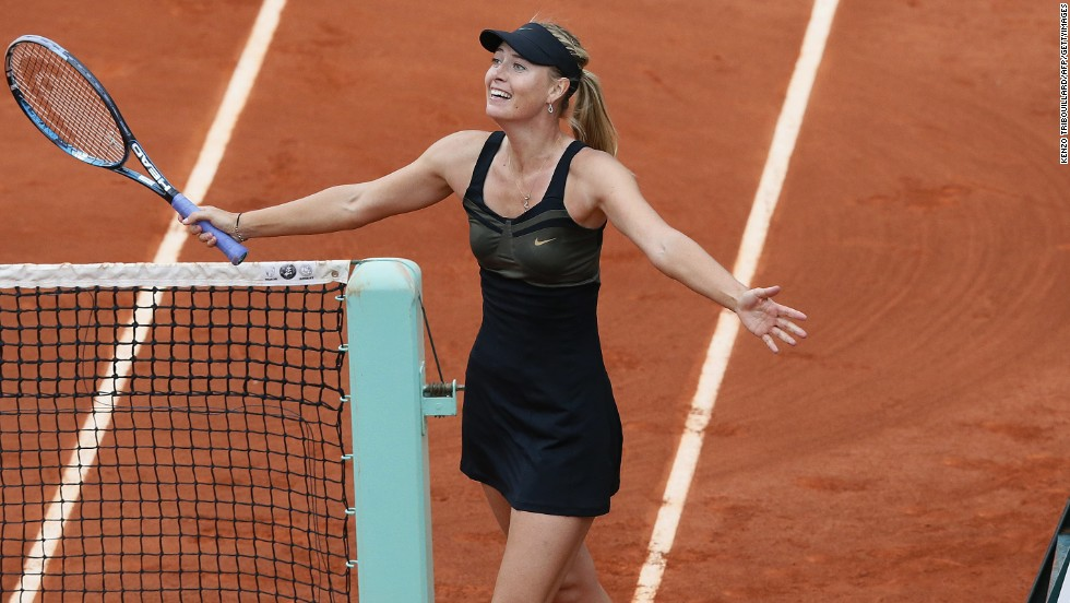 Maria Sharapova's partnership with Jimmy Connors lasted just one match. The pair worked together for 34 days before moving their separate ways.