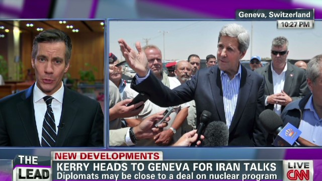 Kerry joins top diplomats for Iran talks