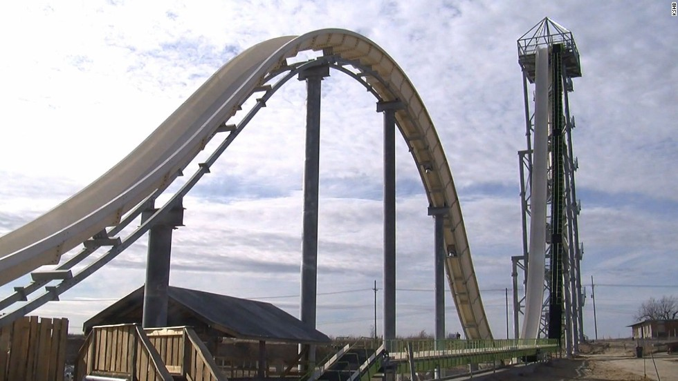 The world's tallest, fastest waterslide