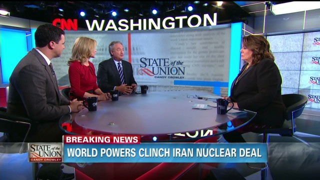 Political panel debates Iran deal & more