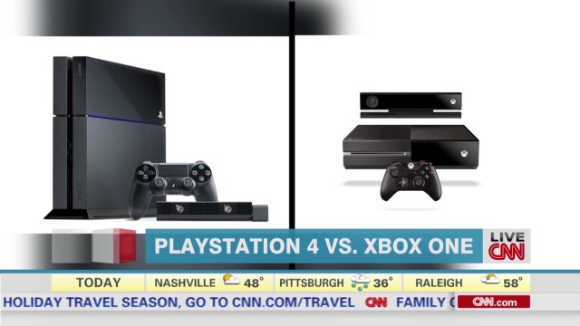Console wars: PlayStation 4 vs. Xbox One