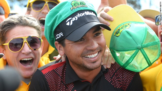 Jason Day's victory proved popular with home fans at Royal Melbourne as he led Australia to the team title at the World Cup.