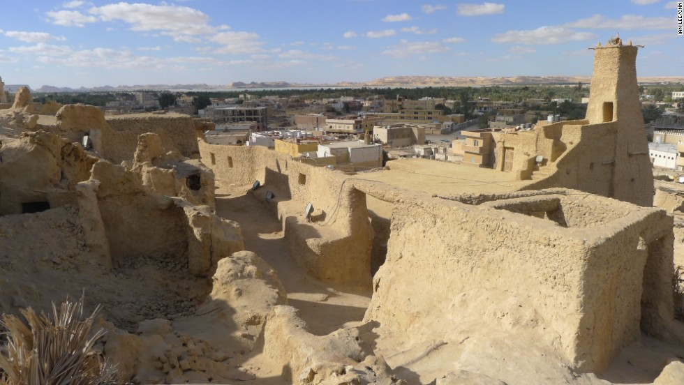 The now-deserted old city of Shali.