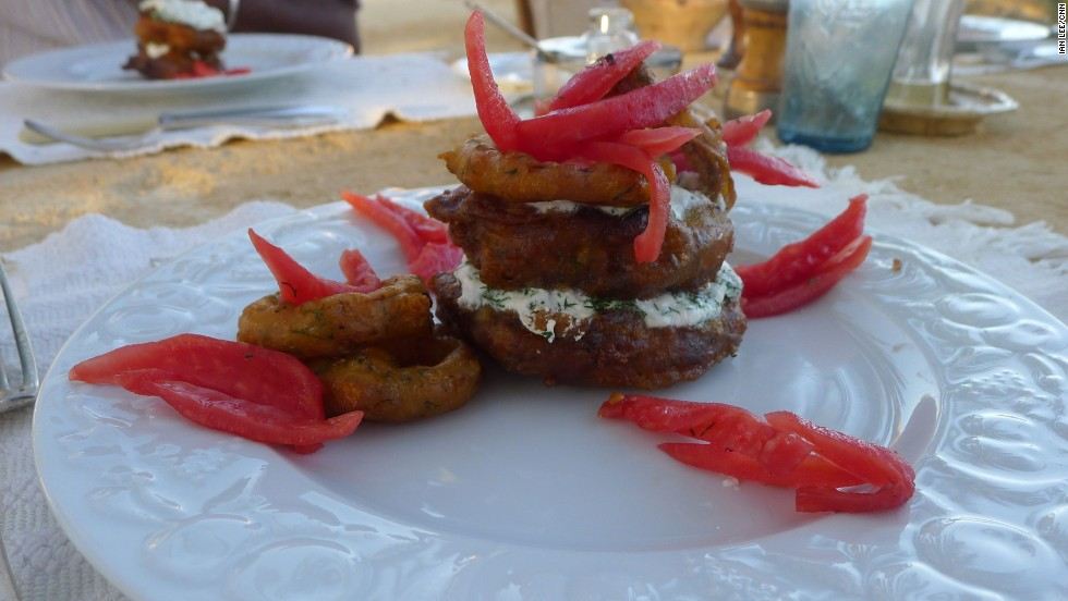 The Adrere Amellal Ecolodge offers some of the finest food in the country ...