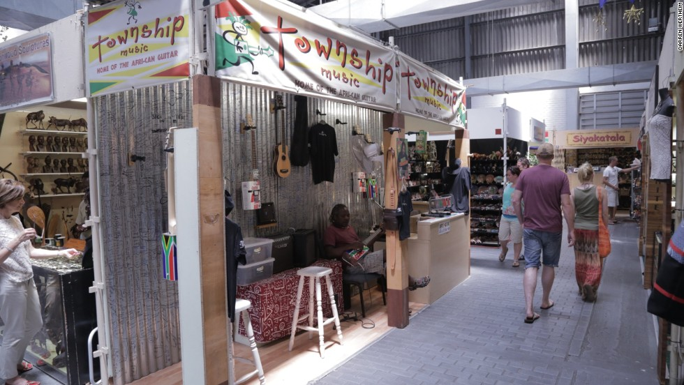 The company sells its guitars online and from the small shop it has inside Cape Town's popular Waterfront Craft Market.