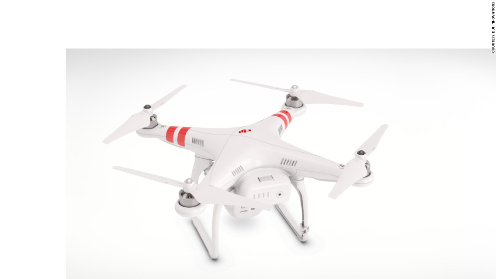 Hoping to go one better, DJI's flying machine boasts 1080p video (to Parrot's 720p) and a 14 megapixel still camera. The vehicle's controller clips to your smartphone, allowing the phone to act as an in-flight computer, showing the display from the Phantom, plus vital stats including air speed, altitude and flight distance. It's not cheap, though.<br /><em><br />Price: Around $1,199</em>