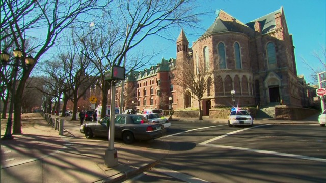 Yale on lockdown after anonymous tip