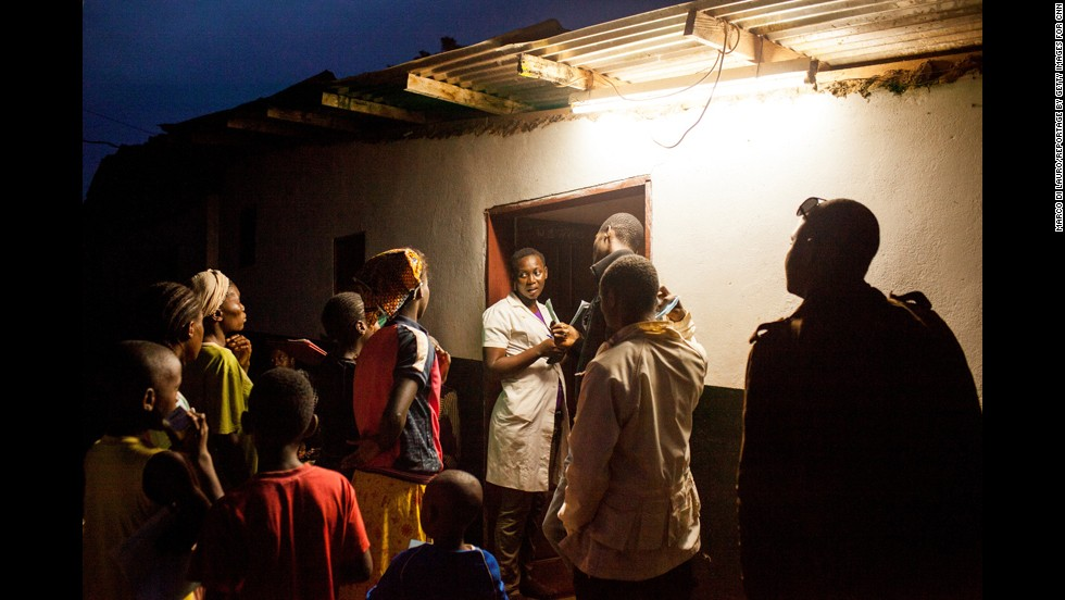 At the weekend clinics, Bwelle and his team will do simple surgeries with local anesthesia. Operations are usually done in a schoolhouse, town hall or home.