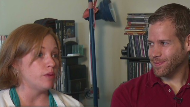 Young couple says Obamacare is 'a relief'