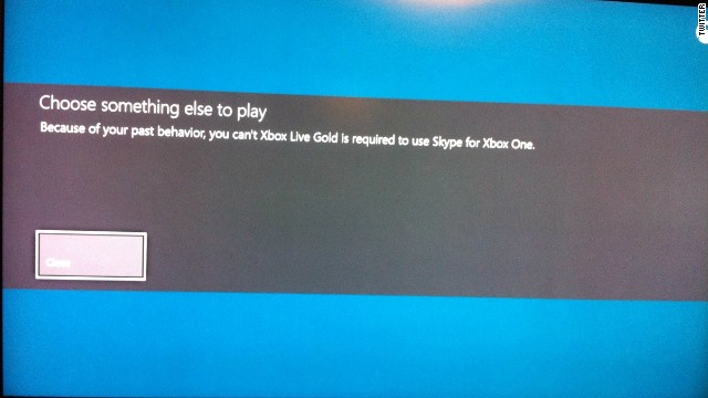Some Xbox Live gamers reported getting this grammatically tortured message after posting videos with profanity in them.
