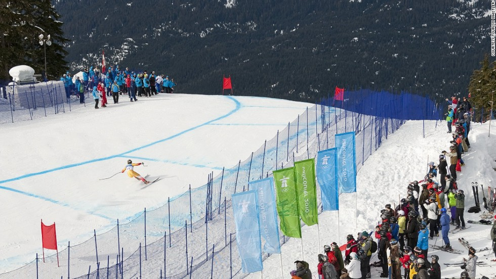 This Olympic run is named after a former Canadian ski team member and Whistler's director of skiing. Various sections include names like Lower Insanity, Toilet Bowl and Boyd's Bump.