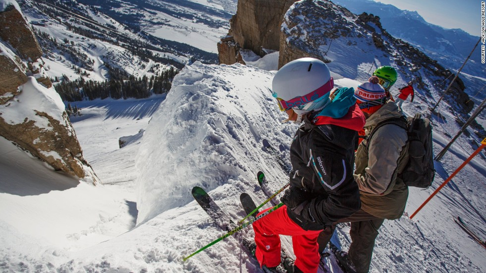 "Among several publications, USA Today calls this the world's scariest slope. ""Corbet's Couloir is one of the best measuring sticks for expert skiers in the world,"" says pro skier Griffin Post."