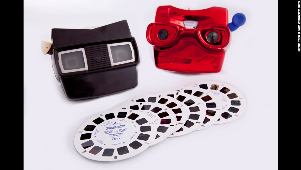 "Did you know that the first View-Master was introduced at the 1939-40 New York World's Fair? Like its ancestor the stereopticon, which allowed people to view 3-D pictures of faraway places, the View-Master was originally intended for viewing images of exotic locations and travel postcards, according to ""Toy Time."" It took off as a toy for children in the 1950s and is still marketed to toddlers."