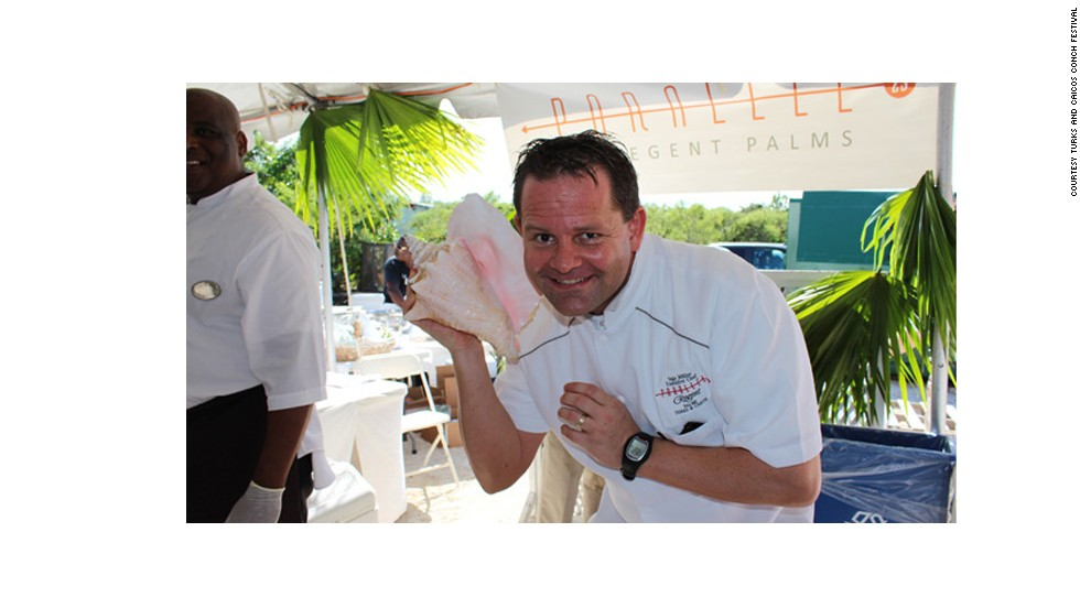 November 30 sees the tenth annual Conch Festival on the islands of Turks and Caicos. There is a popular folk myth that if you hold a conch shell to your ear you can hear the ocean. Other times you'll hear the head of marketing and PR at the local tourist board punting upcoming events.