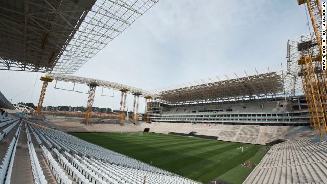 Sao Paulo is scheduled to hold the opening game of the 2014 World Cup.