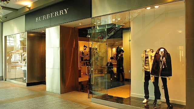 Burberry goes to battle over iconic check
